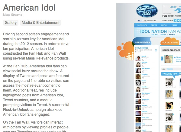 American Idol newsletter article