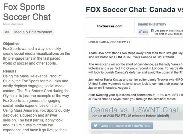 Fox Sports use case