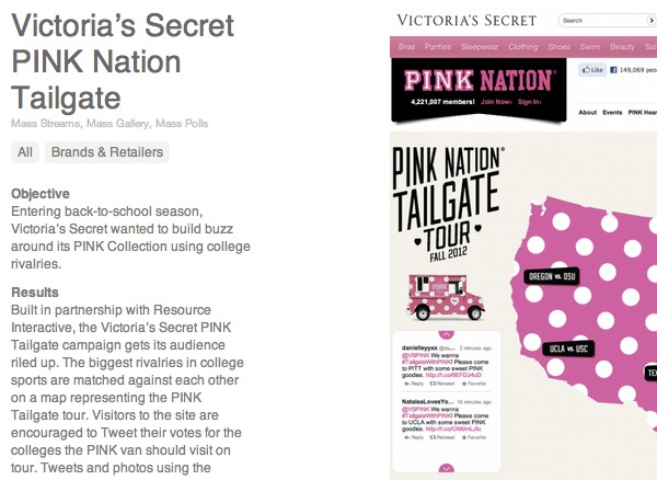 Victoria's Secret use case
