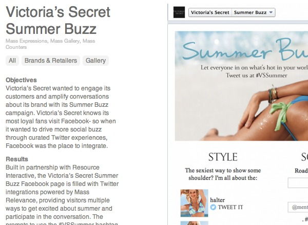 Victoria's Secret newsletter article